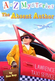 Cover of: The Absent Author (A to Z Mysteries, #1)