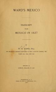 Cover of: Ward's Mexico