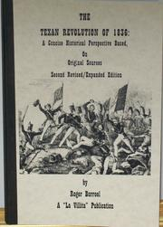 Cover of: The Texas Revolution of 1836