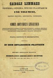 Cover of: Caroli Linnaei Systema, genera, species plantarum uno volumine