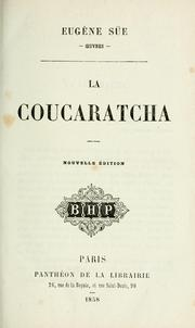 Cover of: La coucaratcha
