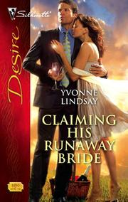 Cover of: Claiming his runaway bride