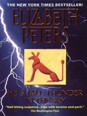 Cover of: He shall thunder in the sky