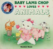 Cover of: BABY LAMB CHOP LOVES ANIMALS (Baby Lamb Chop Board Books)
