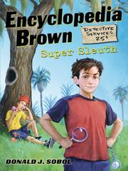 Cover of: Encyclopedia Brown, Super Sleuth