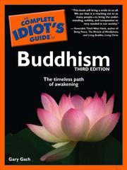 Cover of: The complete idiot's guide to Buddhism