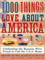 Cover of: 1,000 Things to Love about America