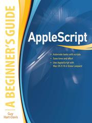 Cover of: AppleScript: a beginner's guide