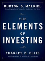 Cover of: The Elements of Investing
