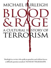 Cover of: Blood and rage: a cultural history of terrorism