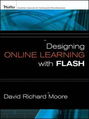 Cover of: Designing online learning with Flash