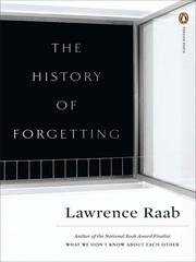 Cover of: The history of forgetting