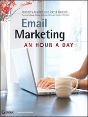 Cover of: Email marketing: an hour a day