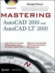 Cover of: Mastering AutoCAD 2010 and AutoCAD LT 2010