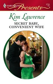 Cover of: Secret Baby, Convenient Wife