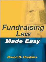 Cover of: Fundraising law made easy