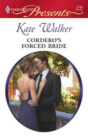 Cover of: Cordero's forced bride