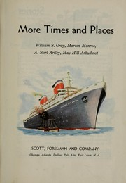 Cover of: More times and places