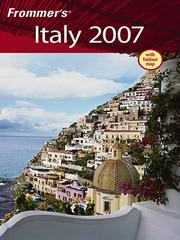 Cover of: Frommer's Italy, 2007