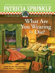 Cover of: What are you wearing to die