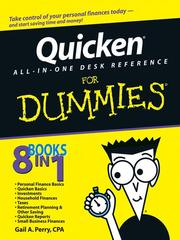 Cover of: Quicken All-in-One Desk Reference For Dummies (For Dummies (Computer/Tech))