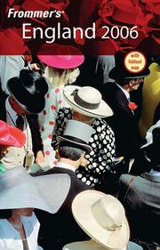 Cover of: England 2006