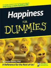 Cover of: Happiness for dummies
