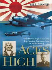 Cover of: The heroic saga of the two top-scoring American aces of World War II