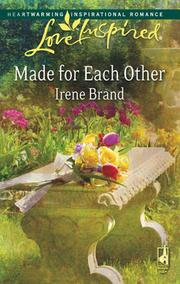 Cover of: Made for Each Other (Love Inspired #448)