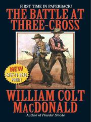 Cover of: The battle at Three-Cross