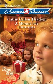 Cover of: A mommy for Christmas