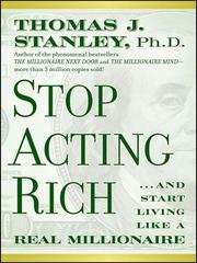 Cover of: Stop acting rich