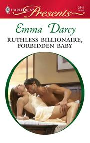 Cover of: Ruthless Billionaire, Forbidden Baby