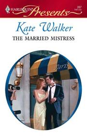 Cover of: The Married Mistress