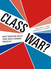 Cover of: Class war?