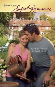 Cover of: Someone like her