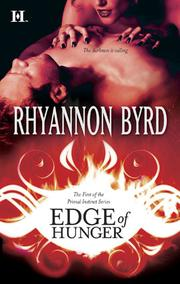 Cover of: Edge of hunger