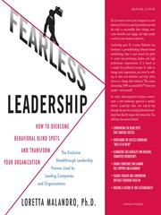 Cover of: Fearless leadership