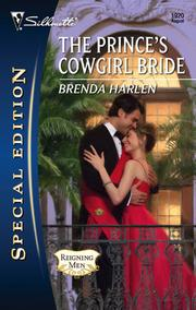 Cover of: The prince's cowgirl bride