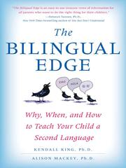 Cover of: The bilingual edge