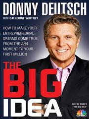 Cover of: The big idea