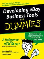 Cover of: Developing eBay business tools for dummies