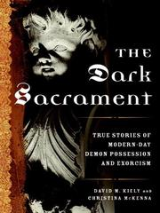 Cover of: The dark sacrament