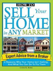 Cover of: How to sell your home in any market