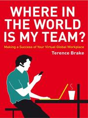 Cover of: Where in the World Is My Team
