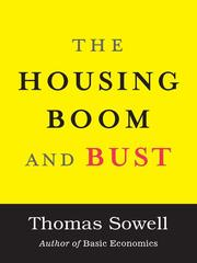 Cover of: The housing boom and bust