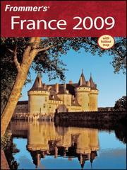 Cover of: Frommer's France 2009