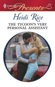 Cover of: The tycoon's very personal assistant
