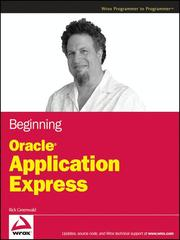 Cover of: Beginning Oracle Application express