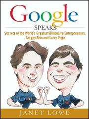 Cover of: Google speaks